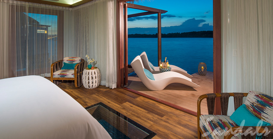 Sandals Whitehouse Over Water Bungalows